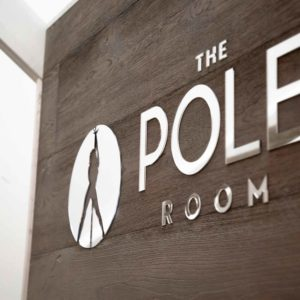 Mitcham Pole Dance Reception with Logo at The Pole Room